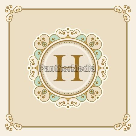 vector luxury elegant vector frame and