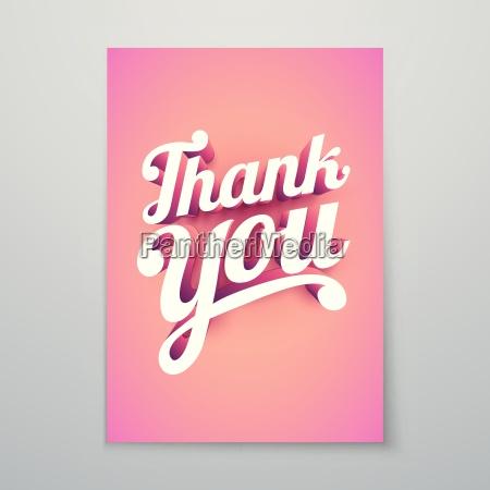 thank you vector custom 3d hand