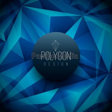 vector polygon based design template