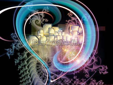 fractal mechanics background