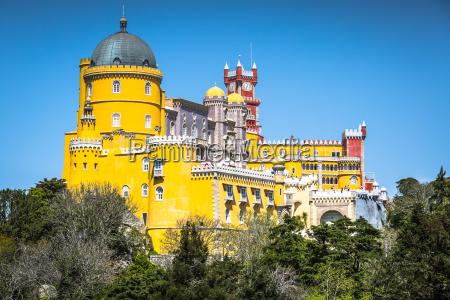 sintra portugal pena national palace an