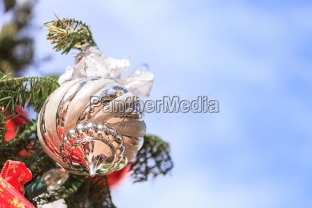 rot gruen gold silber weihnachtsschmuck