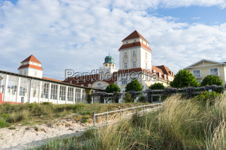 spa house in binz on the
