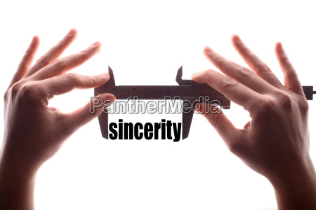 small sincerity concept