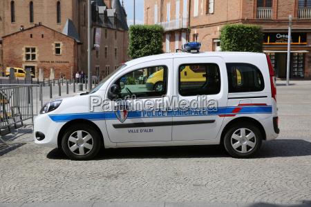 franzoesisch polizeiwagen