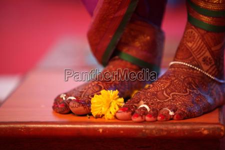 flower bridal ritual