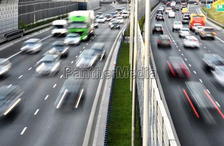sechsspurige autobahn in polen
