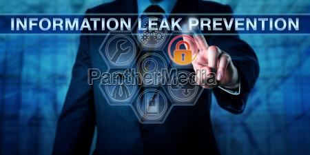 engineer touching information leak prevention