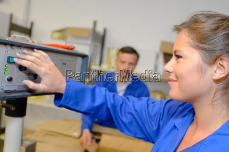female machinist