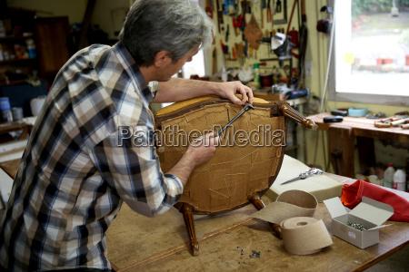 silla personas gente hombre instrumentos artesano
