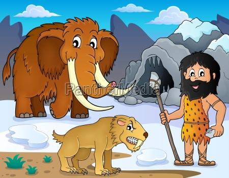 praehistorisches thema bild 2