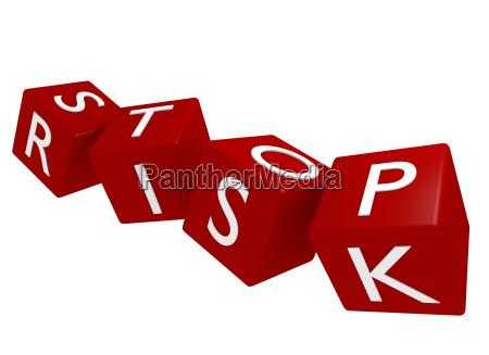 detener el concepto de riesgo 3d