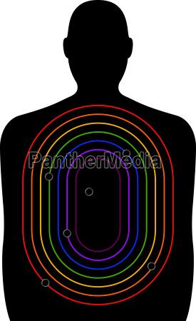 homophobic gun crime schiessstand ziel