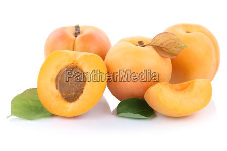 aprikose aprikosen frucht frische fruechte geschnitten