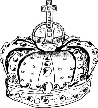 krone kruzifix cartoon zeichentrickfilm zeichentrick