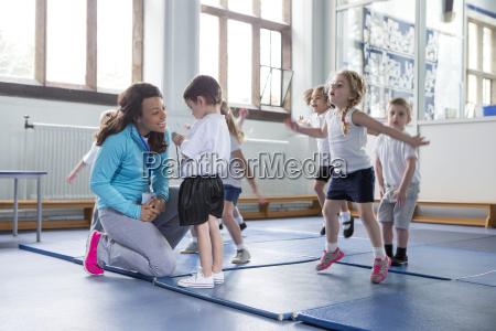 nursery pe lesson