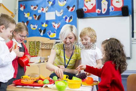 rollenspiele restaurant im kindergarten