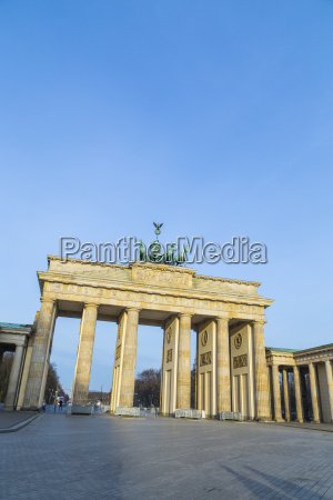 brandenburg gate of berlin germany