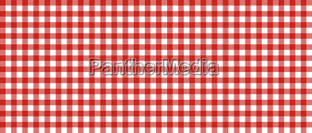 checkered tablecloth red white