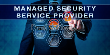 manager pushing managed security service provider