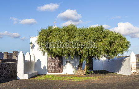 small chapel in rural area