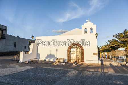 church in small village of femes