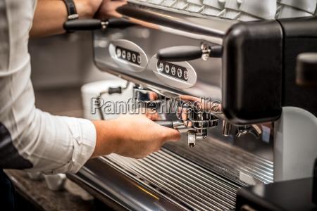 professionelle kaffeemaschine