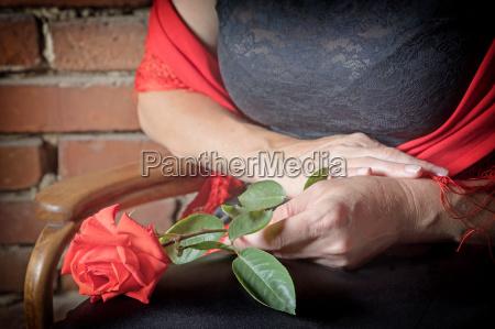 haende von flamenco taenzer in der