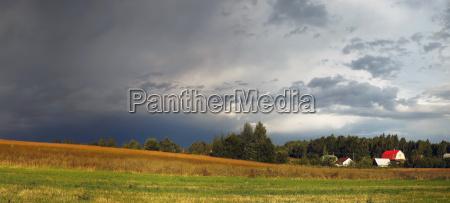 die, schwindelerregende, ländliche, landschaft - 17984008