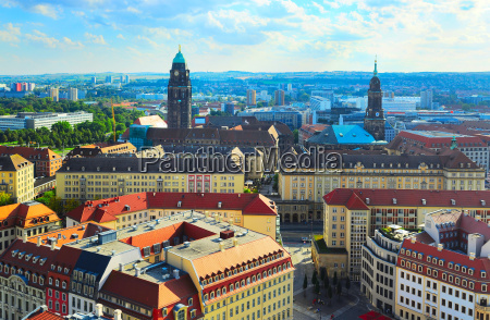 dresden skyline germany