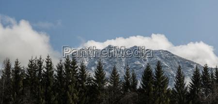 germany bavaria mittenwald panoramic view of
