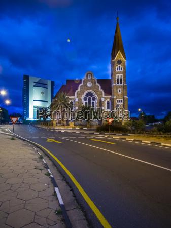 namibia windhoek christus kirche und independence