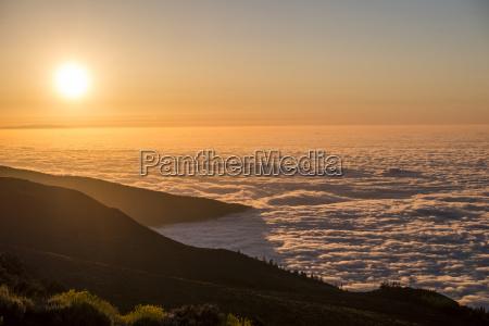 fahrt reisen nationalpark sonnenuntergang romantisch wolke