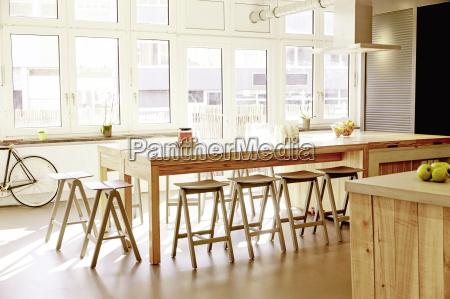 modern canteen in a modern office