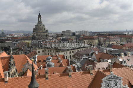 germany saxony dresden old town view