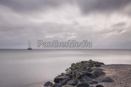 germany timmendorf beach baltic sea sailing