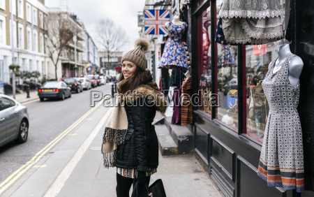 uk london notting hill smiling young