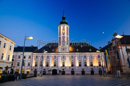 austria lower austria st poelten townhall