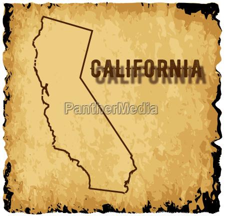 old california karte