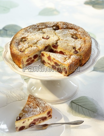 kirschenmichel cherry bread pudding cake with