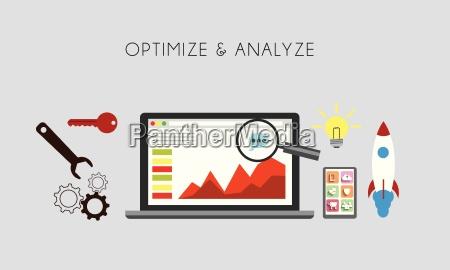 web optimierung optimieren und analize