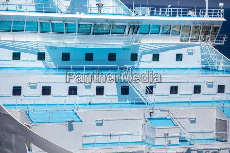cruise ship deck view