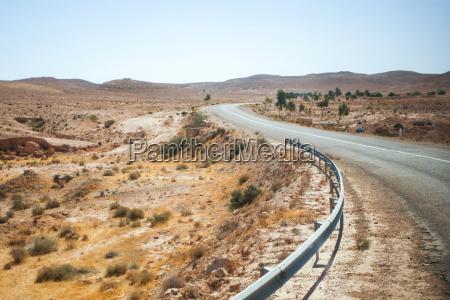 road in matmata