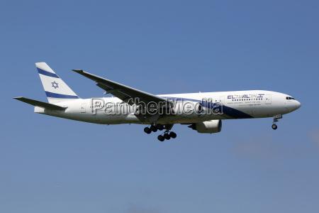 el al israel airlines flugzeug boeing