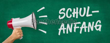 megaphone school start