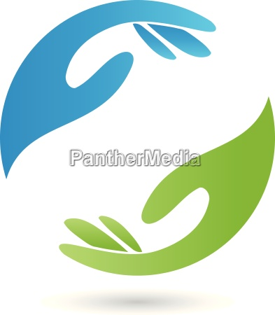 two hands logo occupational therapy pastoral