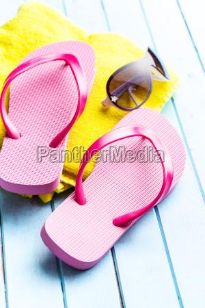 rosa flip flops