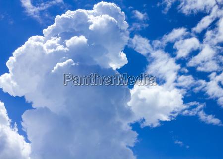 himmel mit wolken tageslicht
