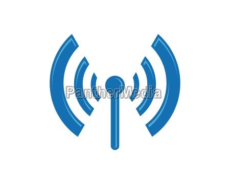 drahtlose logo vorlage