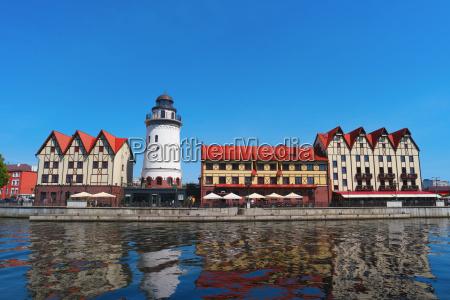 the historic city center of kaliningrad